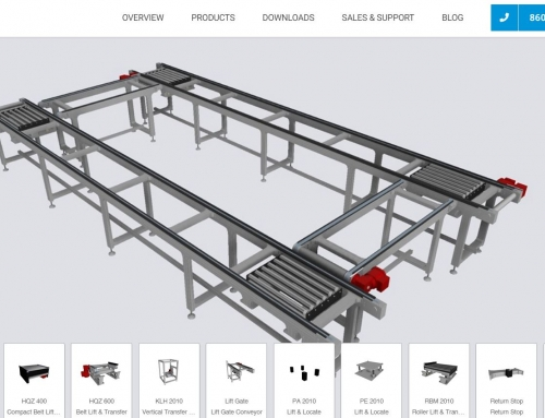 Design Conveyor Systems Faster with CAD360!