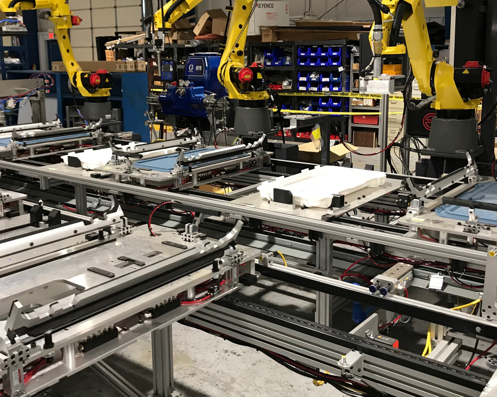 robotic assembly conveyors